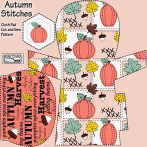 Autumn stiches pad