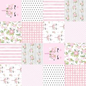 unicorn cheater quilt wholecloth unicorn quilt nursery fabric pink unicorn railroad