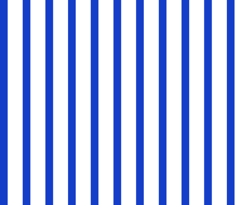 thin blue vertical stripes  fabric by majaswiss on Spoonflower - custom fabric