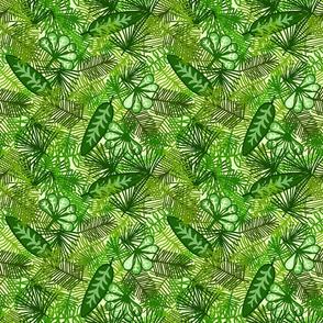 Jungle Leaf Print