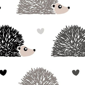 Hedgehog Love - Large Scale