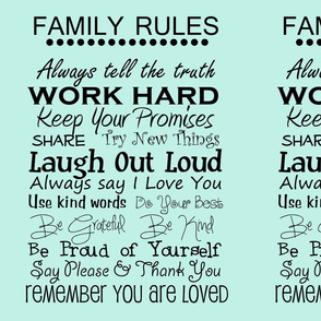 complete family rules aqua
