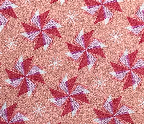 Pinwheels* (Mona) || spring windmill geometric wind star stars starburst triangles pastel