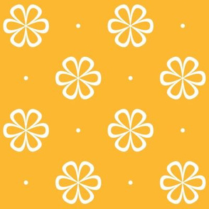 Infinity Flower Tangerine