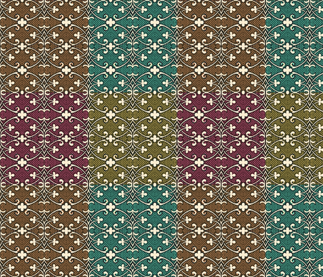 bizantine 115 fabric by hypersphere on Spoonflower - custom fabric