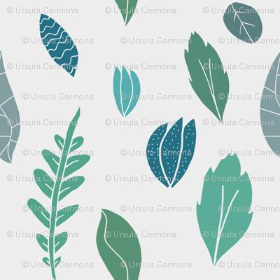 Whimsical Leaves