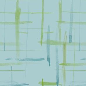 brushlines med blue