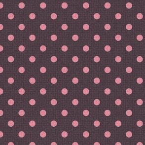 Cream Dotty Pattern