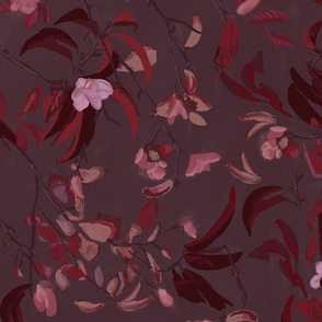 Dusty Plum Floral