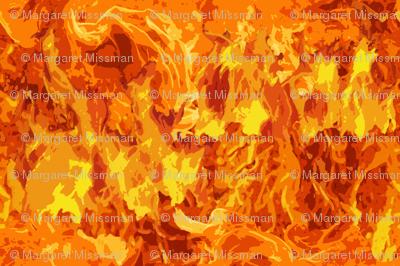 Blazing Fire Pattern