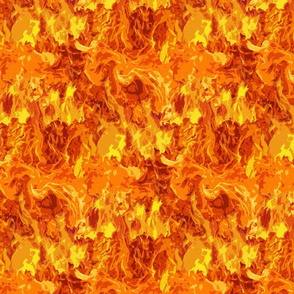 Blazing Fire Pattern
