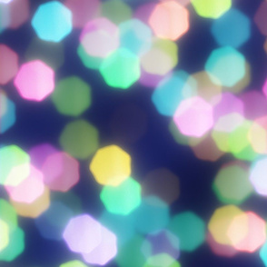 Colored Shape Bokeh