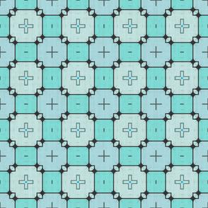 Modern Geometric Squares