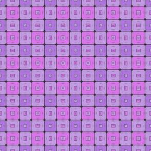 Modern Geometric Squares Pattern