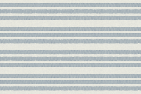 Country Linen Stripes Blue fabric by docious_designs_by_patricia_braune on Spoonflower - custom fabric