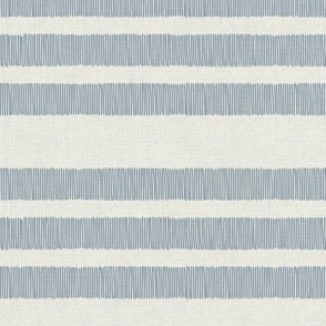 Country Linen Stripes Blue