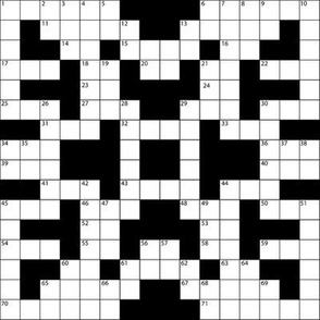 crossword - large