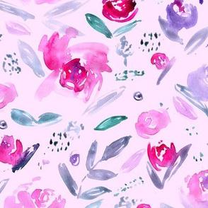 Sweet garden • watercolor