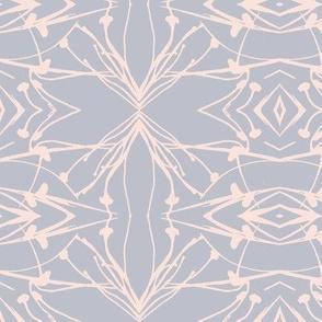 Hawkweed (Pink on Gray)