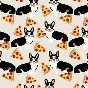 corgi tricolored pizza dog breed cute pet fabric tan