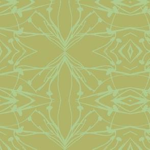 Hawkweed (Green on Green)