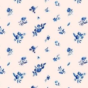 Indigo Cute Fleur on Pink