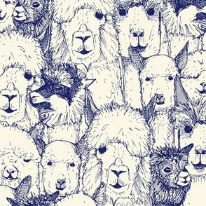 just alpacas indigo