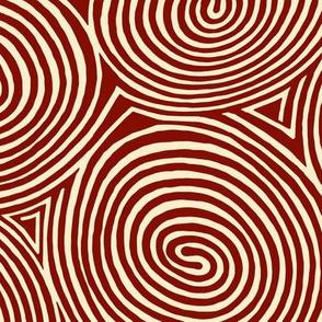 spirals-carnelian-red