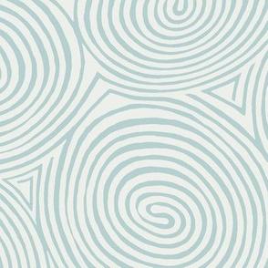 spirals-robin egg-blue