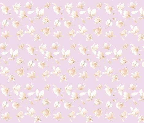 Tulip Magnolia (Pinky Purple) fabric by belovedsycamore on Spoonflower - custom fabric