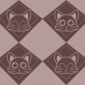 kitty draughts_aubergine