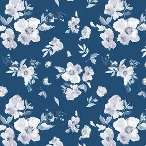 Perry Navy Blue Floral
