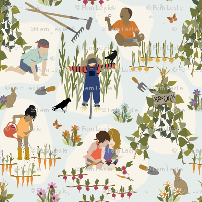 Kids Only - Gardening