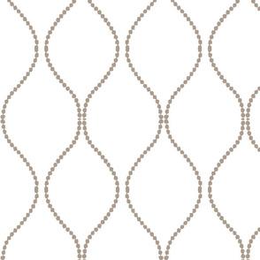 Modern ogee modern lattice modern fretwork ovals