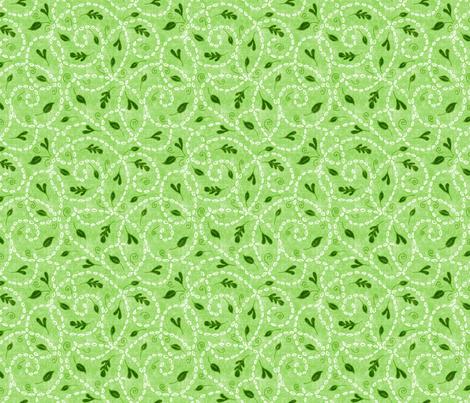 Garden Seedlings  fabric by elramsay on Spoonflower - custom fabric