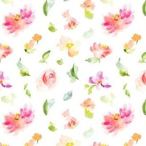 Tropicali Cute Pink Watercolor Floral