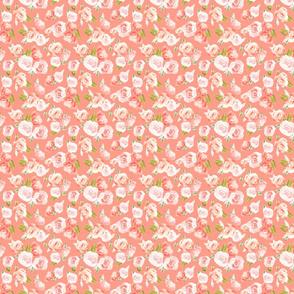 Frida Pastel Pink Floral on Pink