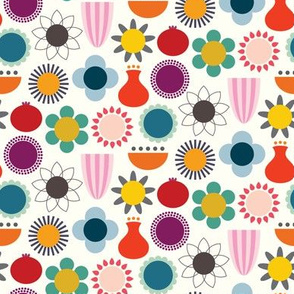 Mod Scandinavian Flower Mix
