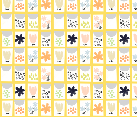 Seed packet quilt fabric by anda on Spoonflower - custom fabric