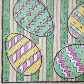 Mid-century eggs