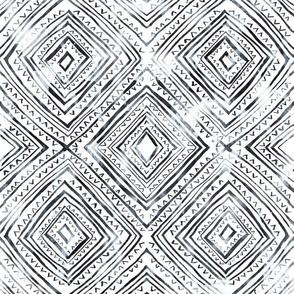 Diamond drwan white