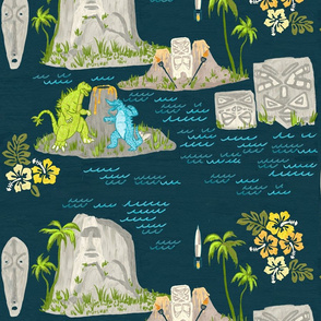 tiki geology large