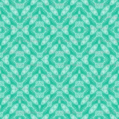 Green Paisley Diamonds