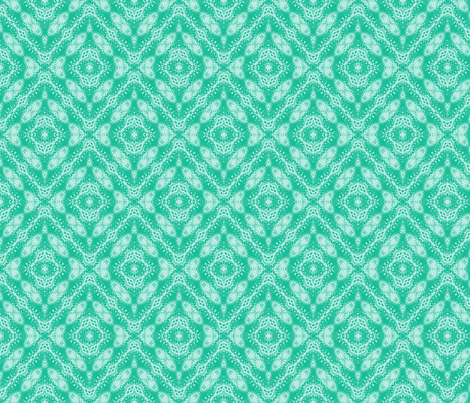 Green Paisley Diamonds fabric by just_meewowy_design on Spoonflower - custom fabric