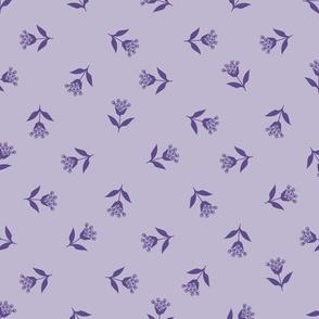 Wallflower Bud Toss: Violet Purple