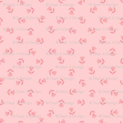 Wallflower Bud Toss: Millennial Pinks