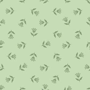Wallflower Bud Toss: Mossy Greens