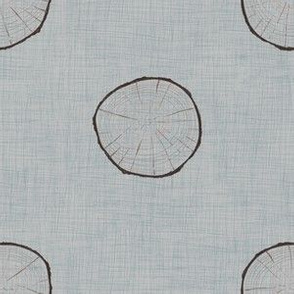 Log Linen (stone blue-grey)