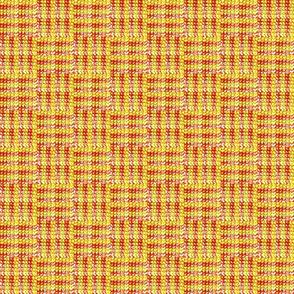 Red and Gold Patchwork