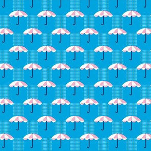 It's Raining Again* (Sky) || umbrella umbrellas spring rain spring preppy Seattle blue